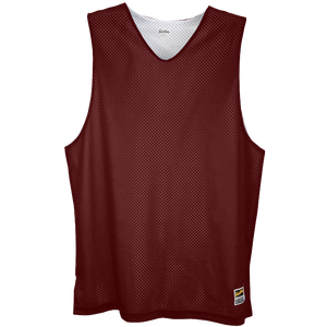 Eastbay Basic Reversible Mesh Tank - Boys' Grade School - Dark Maroon/White