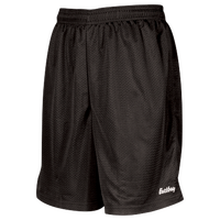 "Eastbay 8"" Basic Mesh Shorts - Boys' Grade School - All Black / Black"