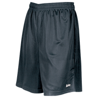 "Eastbay 8"" Basic Mesh Shorts - Boys' Grade School - Grey / Grey"