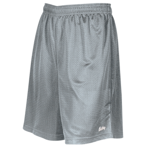 "Eastbay 8"" Basic Mesh Short - Boys' Grade School - Silver"