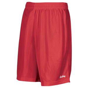 "Eastbay 8"" Basic Mesh Short - Boys' Grade School - Scarlet"