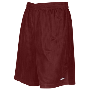 "Eastbay 8"" Basic Mesh Short - Boys' Grade School - Dark Maroon"