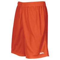 "Eastbay 8"" Basic Mesh Shorts - Boys' Grade School - Orange / Orange"