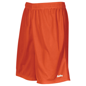 "Eastbay 8"" Basic Mesh Short - Boys' Grade School - Orange"