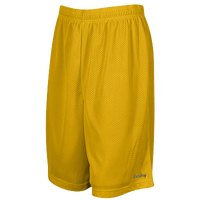 "Eastbay 8"" Basic Mesh Shorts - Boys' Grade School - Gold / Gold"