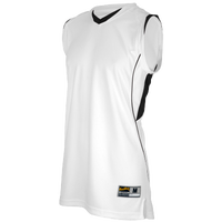 Eastbay EVAPOR Super Court Jersey - Boys' Grade School - White / Black