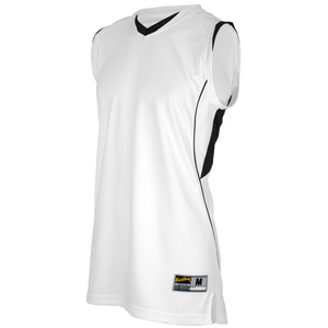 Eastbay EVAPOR Super Court Jersey - Boys' Grade School - White/Black