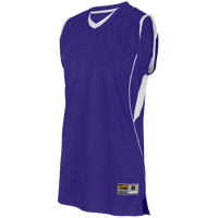 Eastbay EVAPOR Super Court Jersey - Boys' Grade School - Purple / White
