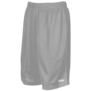 "Eastbay 9"" Basic Mesh Short with Pockets - Men's - Silver"