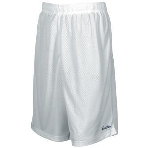 "Eastbay 9"" Basic Mesh Short with Pockets - Men's - White"