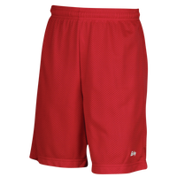 "Eastbay 9"" Basic Mesh Short with Pockets - Men's - Red / Red"