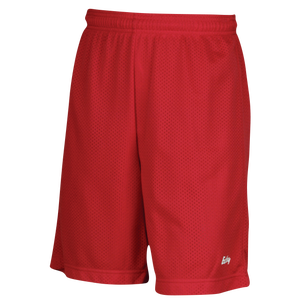 "Eastbay 9"" Basic Mesh Short with Pockets - Men's - Scarlet"