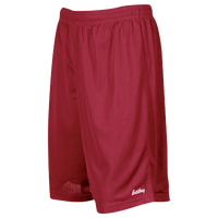 "Eastbay 9"" Basic Mesh Short with Pockets - Men's - Maroon / Maroon"