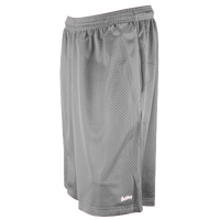 "Eastbay 11"" Basic Mesh Short with Pockets - Men's - Grey / Grey"