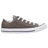 Converse All Star Ox - Boys' Grade School - Grey / White