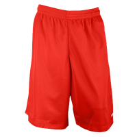 "Eastbay 11"" Basic Mesh Short with Pockets - Men's - Scarlet"