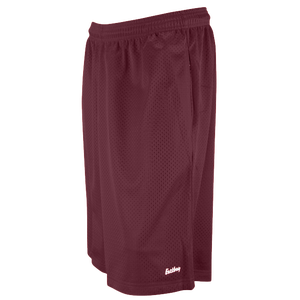 "Eastbay 11"" Basic Mesh Short with Pockets - Men's - Dark Maroon"