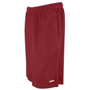 "Eastbay 11"" Basic Mesh Short with Pockets - Men's - Cardinal"