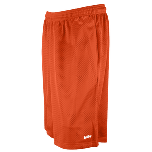 "Eastbay 11"" Basic Mesh Short with Pockets - Men's - Orange"