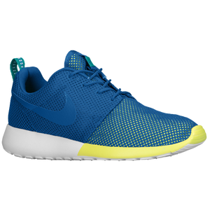 Nike Roshe Run - Men's - Military Blue/Turbo Green/White/Military Blue