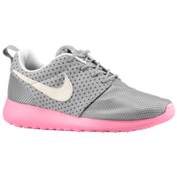 Nike Roshe Run - Women's - Grey / Pink