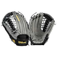 Wilson A2000 KP92 Pro Lace T-Web Fielder's Glove - Men's - Grey / Black