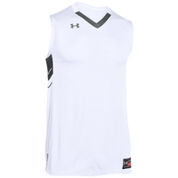 Under Armour Team Crunch Time Jersey - Men's - White / Grey
