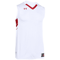 Under Armour Team Crunch Time Jersey - Men's - White / Red