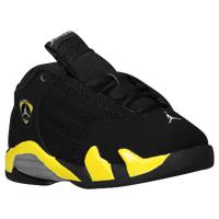 Jordan Retro 14 - Boys' Toddler - Black / Yellow