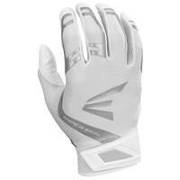 Easton ZF7 VRS Hyperskin Fastpitch Batting Glvs - Youth - White / Silver