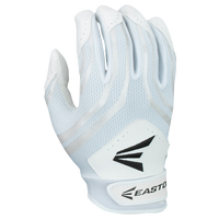 Easton HF3 Hyperskin Fastpitch Batting Gloves - Youth - White / Grey
