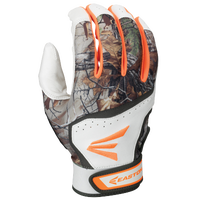 Easton HS7 Batting Gloves - Men's - White / Orange