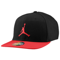 Jordan True Ele Bill Snapback Cap - Men's - Black / Red