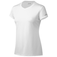 ASICS� Ready-Set Short Sleeve T-Shirt - Women's - All White / White