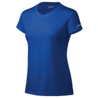 ASICS® Ready-Set Short Sleeve T-Shirt - Women's - Blue / Blue
