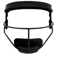 RIP-IT Defensive Face Guard - Grade School - Black / Grey