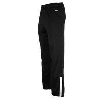 Eastbay EVAPOR Team Warm-Up Zip Pants - Boys' Grade School - Black / White