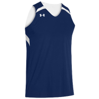 Under Armour Team Clutch Reversible Jersey - Men's - Navy / White