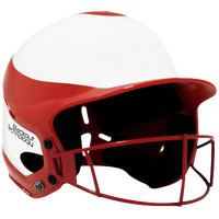 RIP-IT Vision Pro Helmet with Facemask - Women's - Red / White