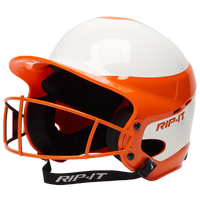 RIP-IT Vision Pro Helmet with Facemask - Women's - Orange / White