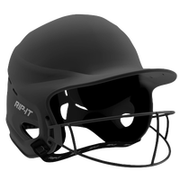 RIP-IT Vision Pro Helmet with Facemask - Women's - Black / Black