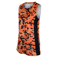 Eastbay Team Premier Elevate Camo Jersey - Women's - Orange / Black