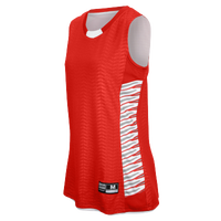 Eastbay EVAPOR Elevate Team Jersey - Women's - Red / Silver