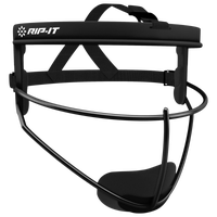 RIP-IT Defense Pro Face Guard - Girls' Grade School - All Black / Black