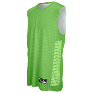 Eastbay EVAPOR Elevate Team Jersey - Boys' Grade School - Rage Green/White/Light Green/Dark Green/Black