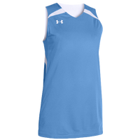 Under Armour Team Clutch Reversible Jersey - Women's - Light Blue / White