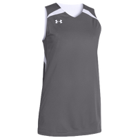 Under Armour Team Clutch Reversible Jersey - Women's - Grey / White