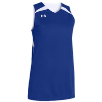 Under Armour Team Clutch Reversible Jersey - Women's - Blue / White