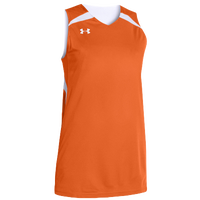 Under Armour Team Clutch Reversible Jersey - Women's - Orange / White