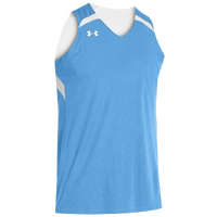 Under Armour Youth Team Clutch Reversible Jersey - Boys' Grade School - Light Blue / White